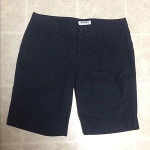 Navy Burmuda Shorts